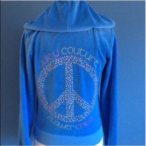 "Juicy Couture ""Flower Child"" Hoodie"